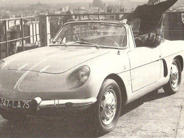 Alpine Renault A108 Cabriolet