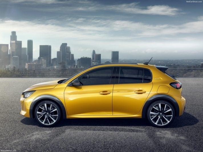Peugeot 208 profilo