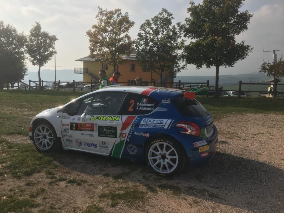 Andreucci Peugeot 208 6 Rally Due Valli 2018