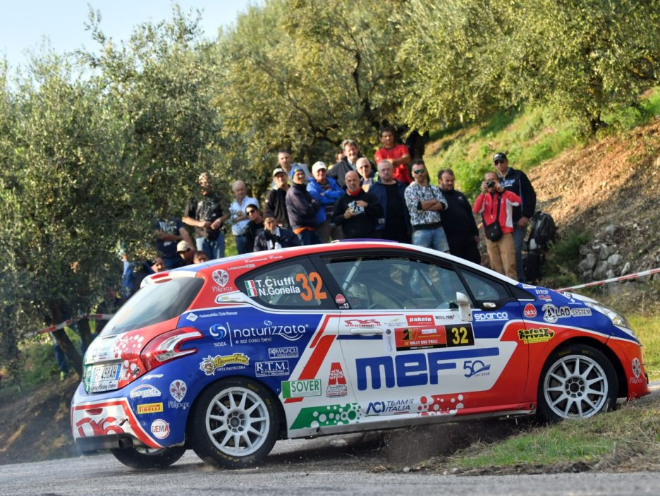 Tommaso Ciuffi, Nicolo Gonella (Peugeot 208 R2 #32, Jolly Team)