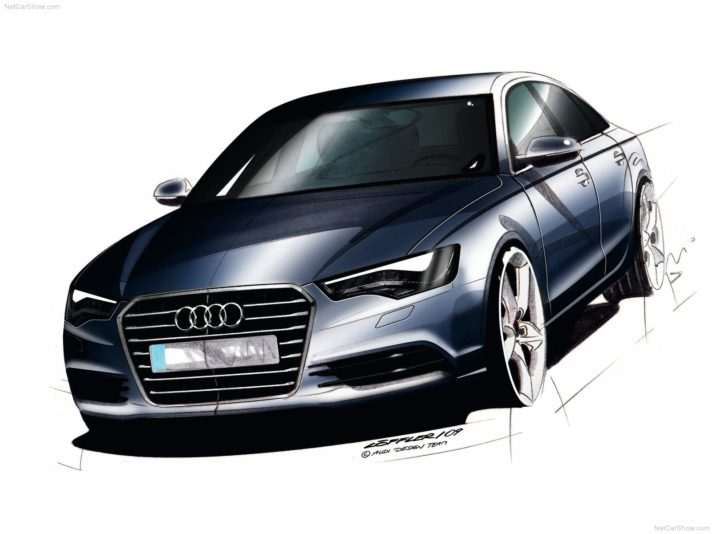 Audi A6 quarta generazione design