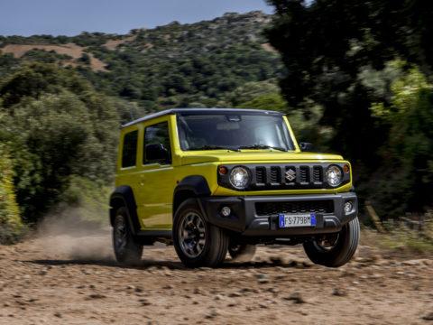 Suzuki JIMNY Action (1)