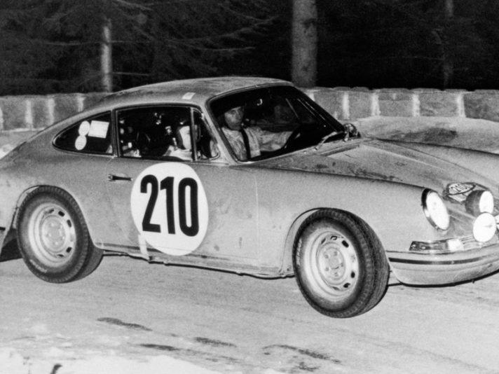 Porsche 911T Rally Monte Carlo 1968