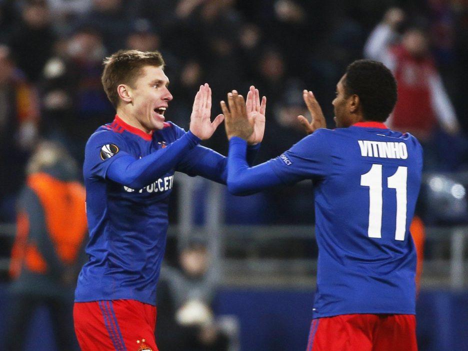 CSKA Moscow vs Arsenal FC