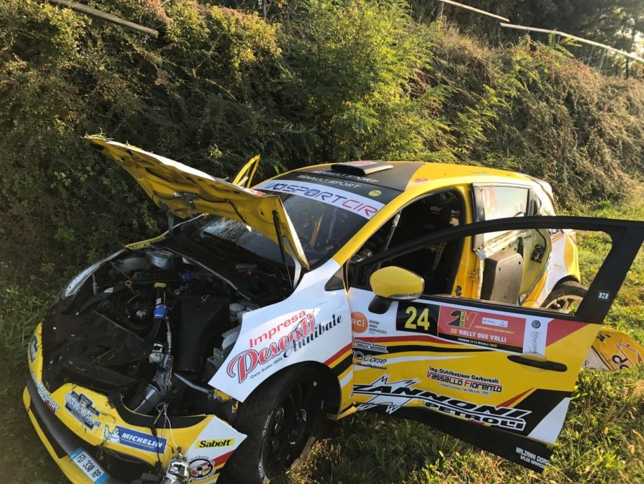 Ferrarotti Renault Clio Rally Due Valli 2018