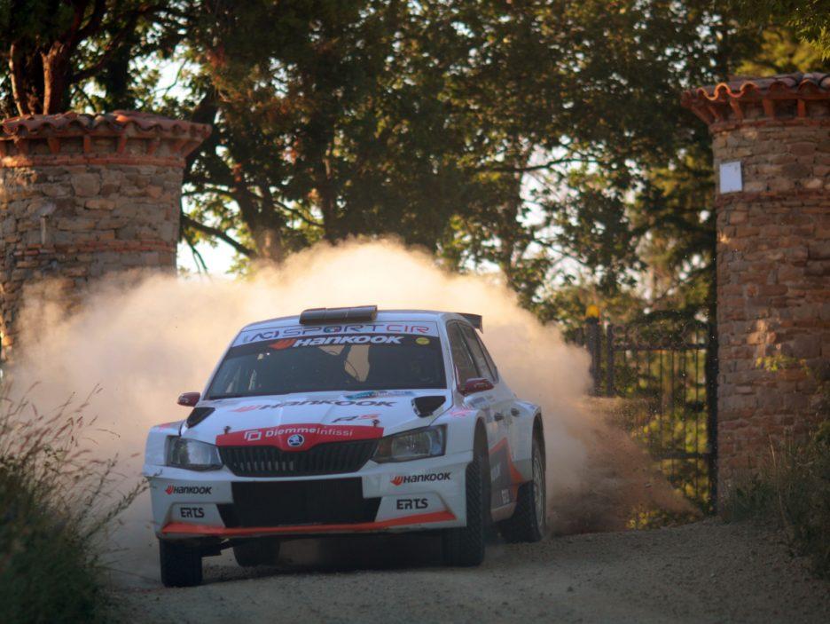 Luca Panzani, Francesco Pinelli (Skoda Fabia R5 #6, ART Motorsport)