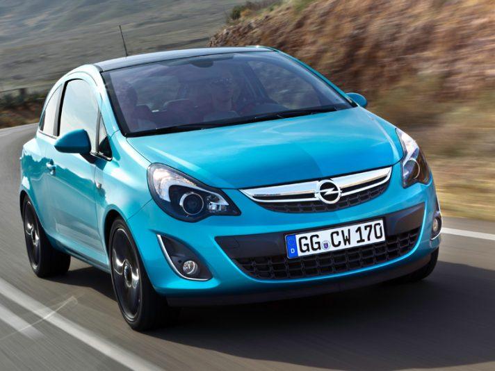 1 - Opel Corsa D tre porte restyling