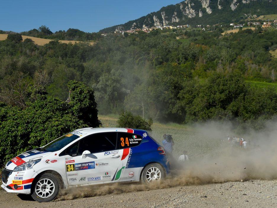 Damiano De Tommaso, Michele Ferrara (Peugeot 208 R2 #34, FPF Sport)