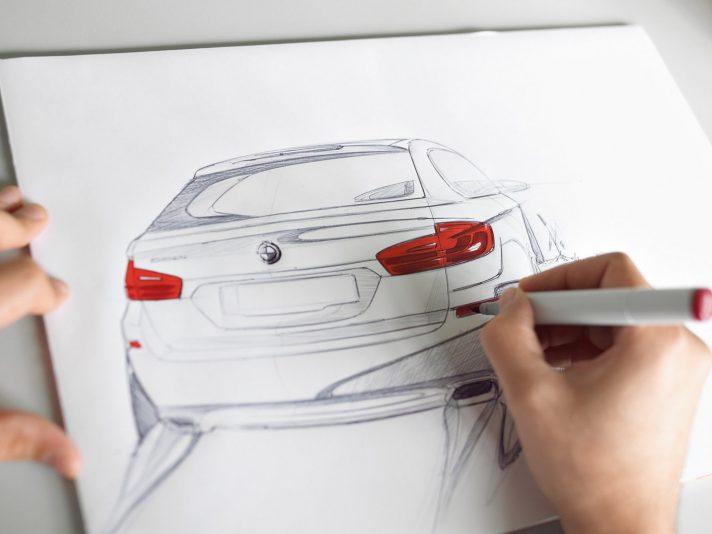 BMW serie 5 Touring sesta generazione design 3
