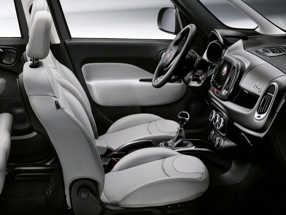 Fiat 500L sedili anteriori