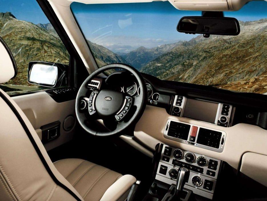 Land Rover Range Rover interni