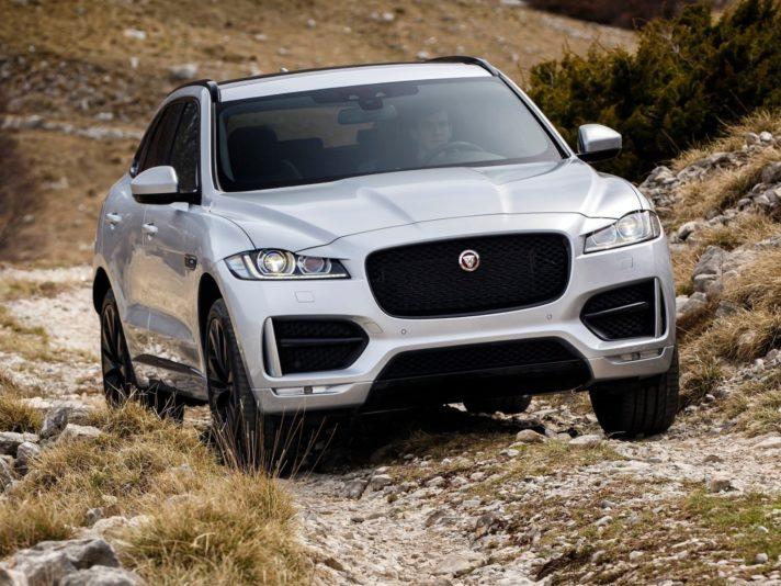 Jaguar F-Pace frontale