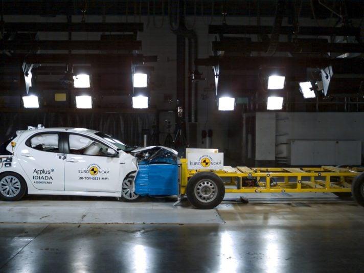 Toyota Yaris Euro NCAP