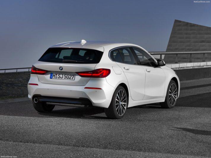 BMW serie 1 tre quarti posteriore