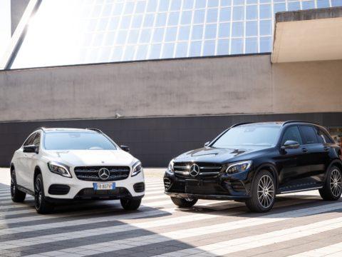 Mercedes GLA e GLC Night Edition