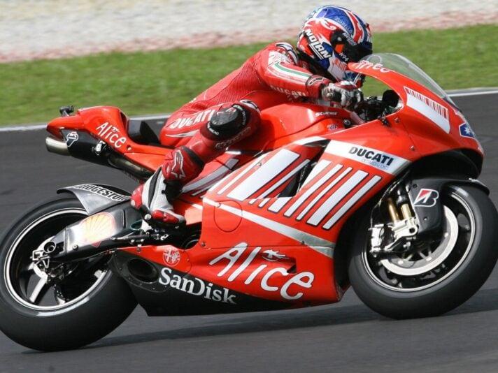Australian rider Casey Stoner of Honda p