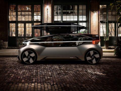 Volvo 360c Concept profilo