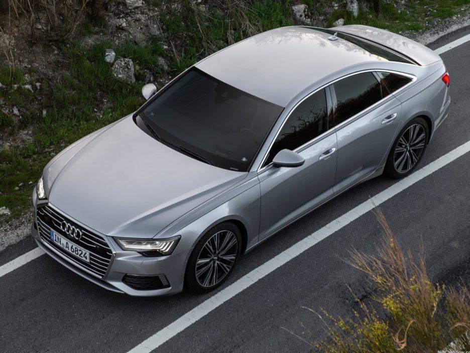 Audi A6 vista dall'alto