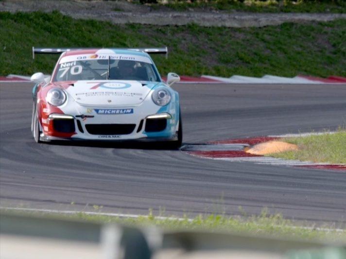 Traiettroia Porsche 911 GT3 cup 2