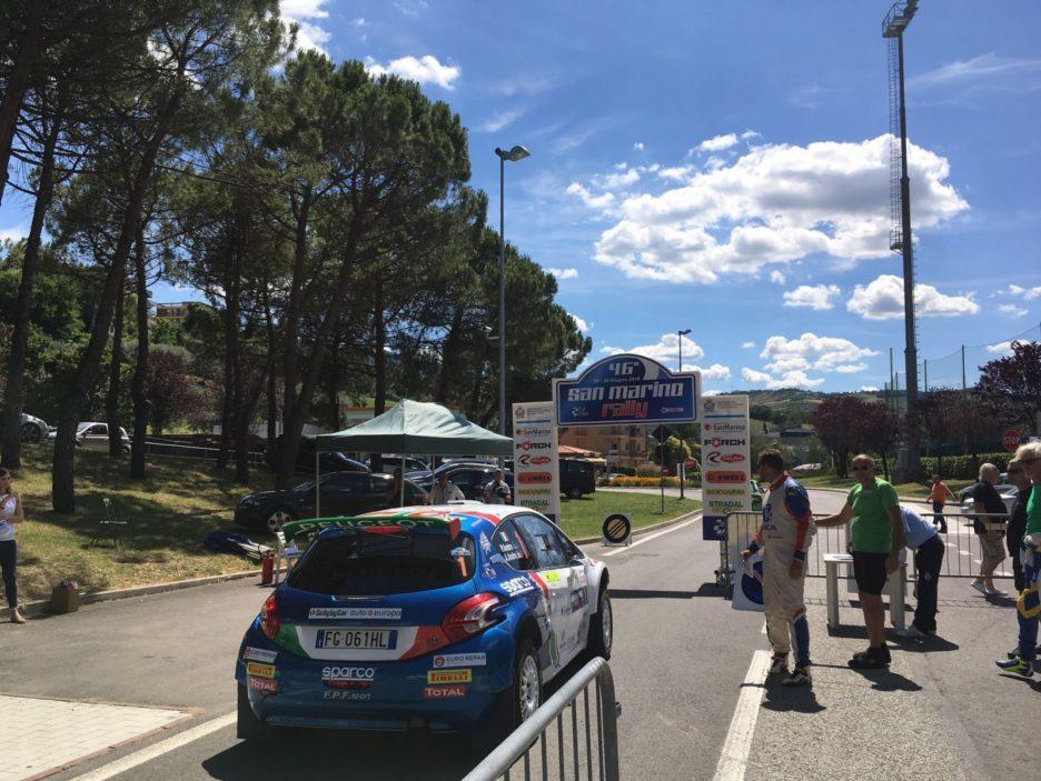 Andreucci Peugeot 208 2 Rally San Marino 2018