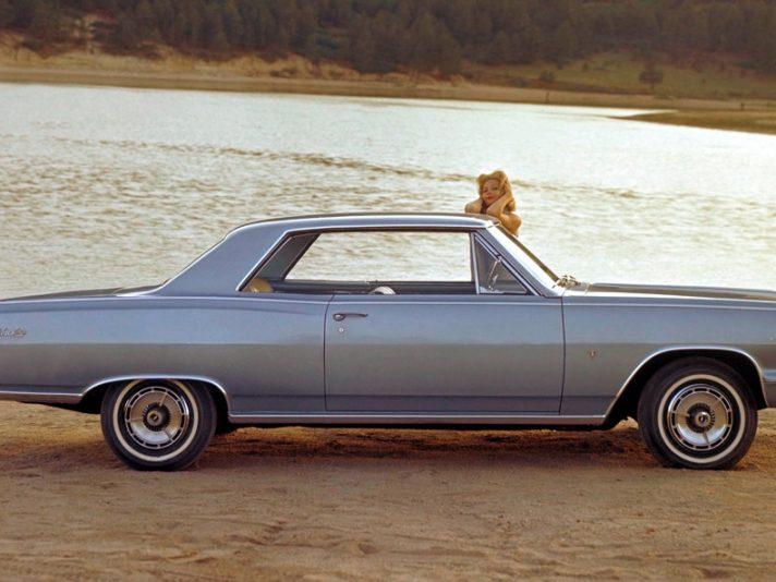 Chevrolet Chevelle Malibu SS prima generazione due porte profilo