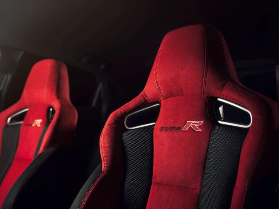 Honda Civic Type-R sedili anteriori
