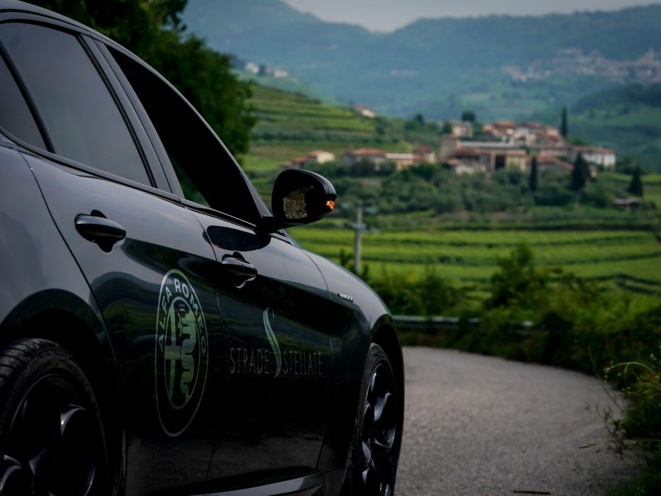 Alfa Romeo Stelvio e Giulia Quadrigloglio strade stellate 8