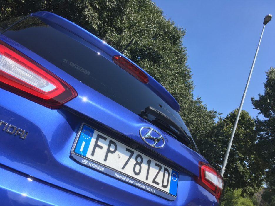 Hyundai i20 dettaglio coda