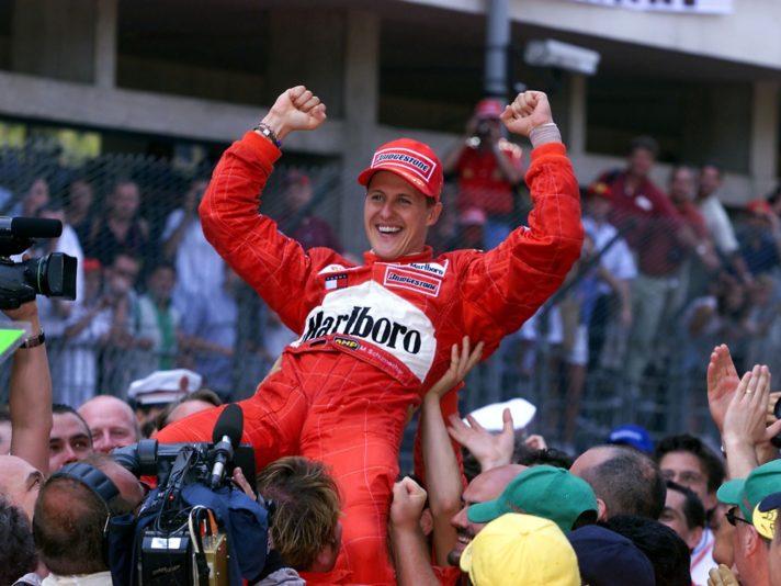 Schumacher GP Monaco 2001