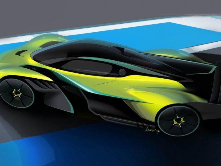 aston martin prepara un hypercar a motore centrale 4motori. Black Bedroom Furniture Sets. Home Design Ideas
