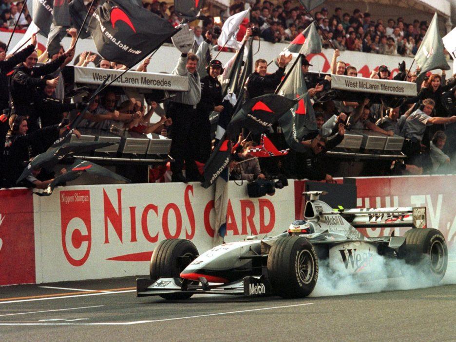 MOTOR RACING-F1-HAKKINEN-FINISH