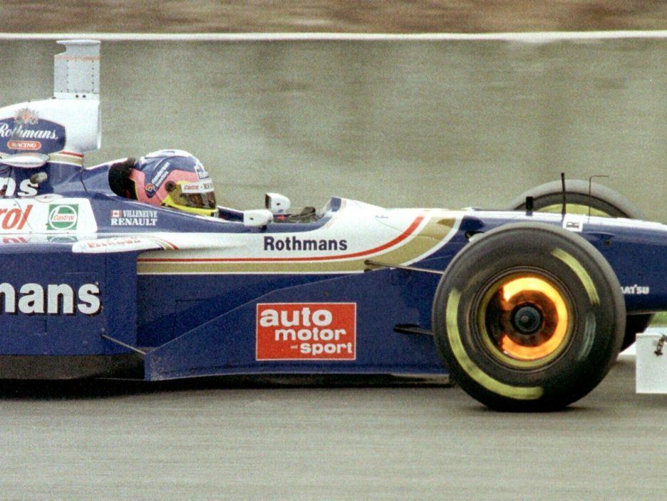 MOTOR RACING-VILLENEUVE 2