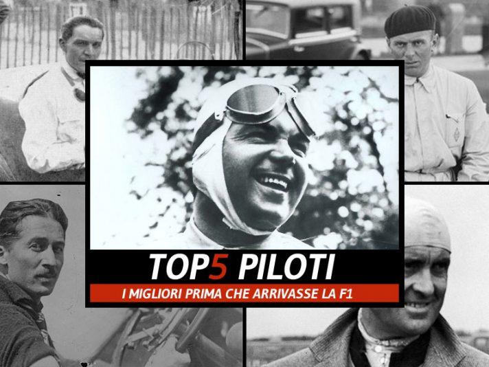 I migliori piloti prima della F1