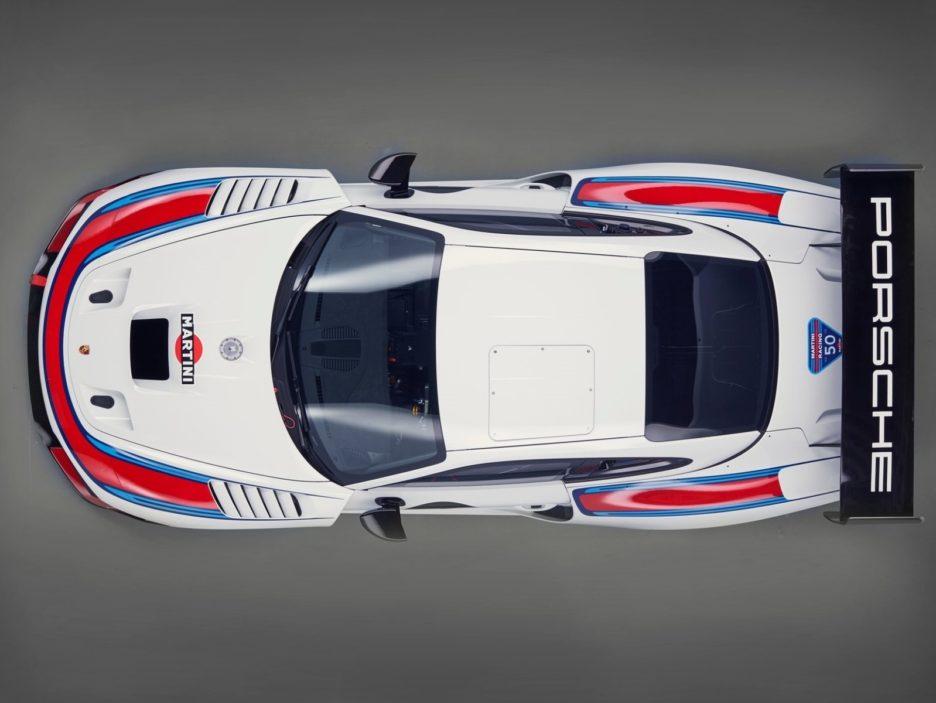 Porsche 935 vista dall'alto