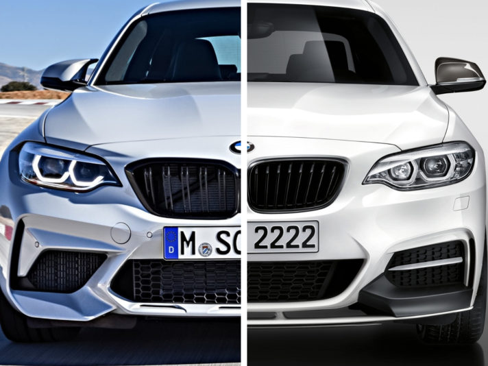 BMW M2 Performance VS M240i