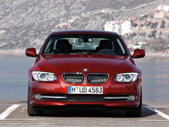 BMW serie 3 Coupé frontale