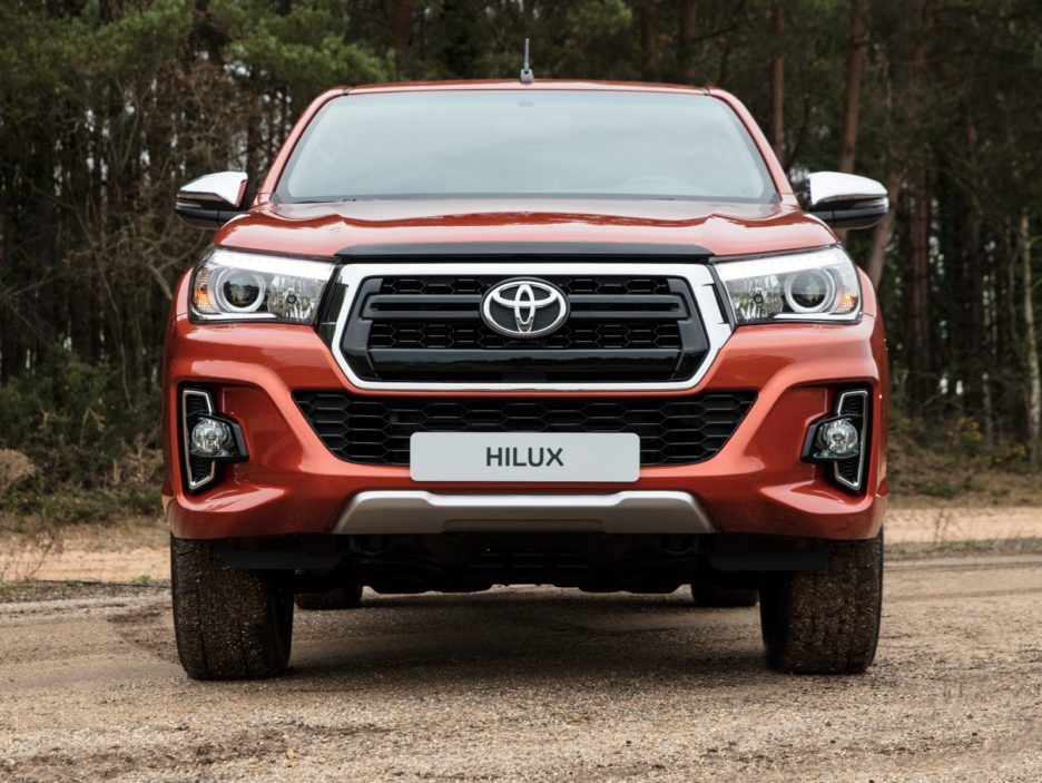 Toyota Hilux Executive+ frontale