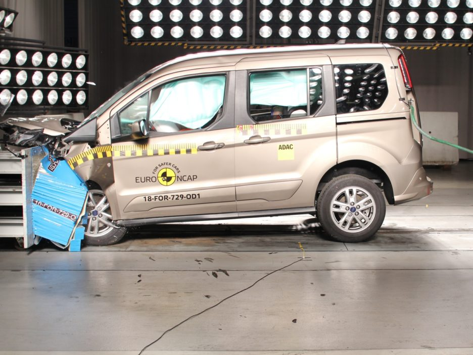Ford Tourneo Connect Euro NCAP