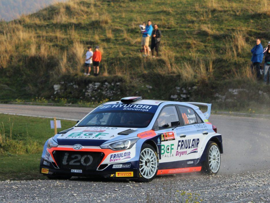 Luca Rossetti, Eleonora Mori (Hyundai i20 R5 #10)