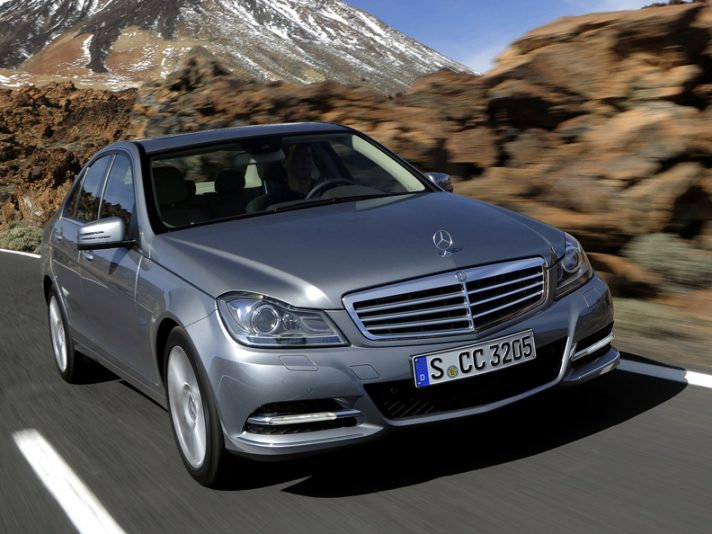 1 - Mercedes classe C terza serie restyling