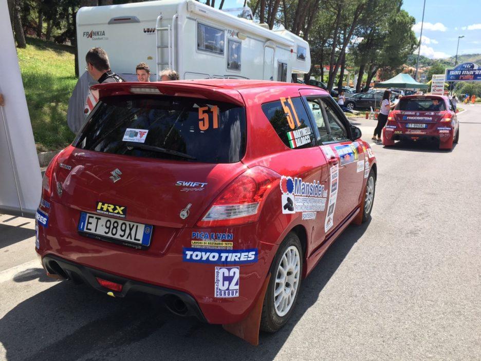 Suzuki Swift Rally San Marino 2018
