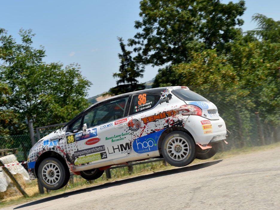 Jacopo Trevisani, Fabio Grimaldi (Peugeot 208 R2 #36, HP Sport)