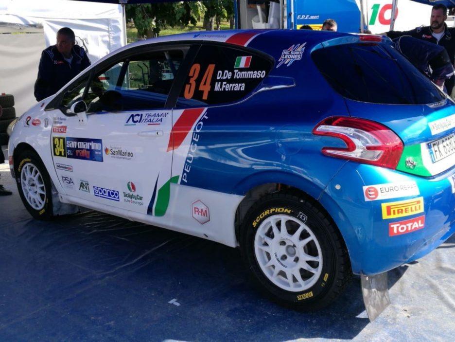 Assistenza 2 Rally San Marino 2018