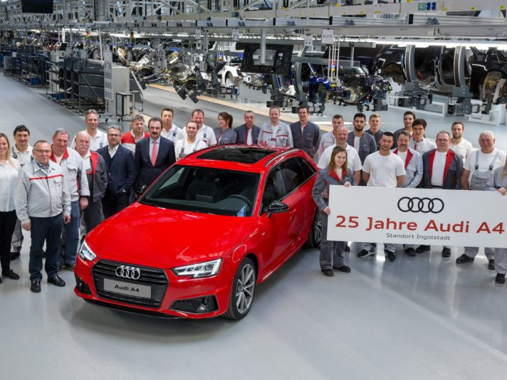 Silver jubilee: Audi A4 celebrates its 25th birthday